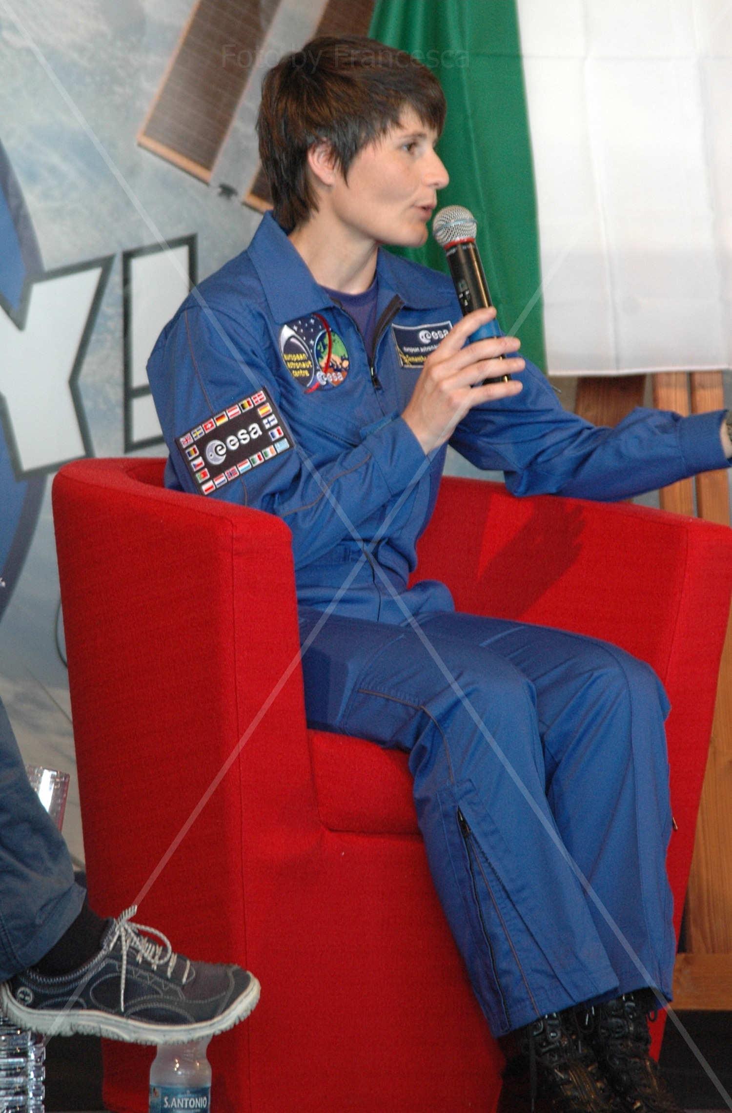 Samantha Cristoforetti illustra la sua missione nello spazio