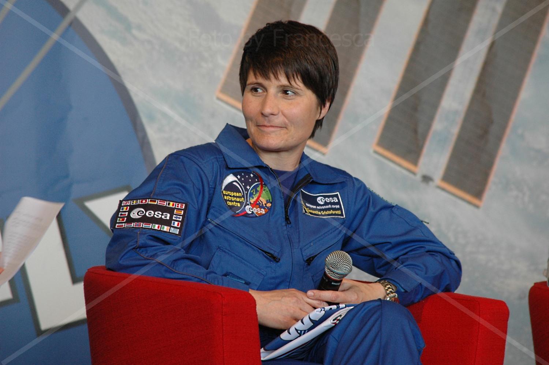 Samantha Cristoforetti - Cremona Migliaro 14 giugno 2014