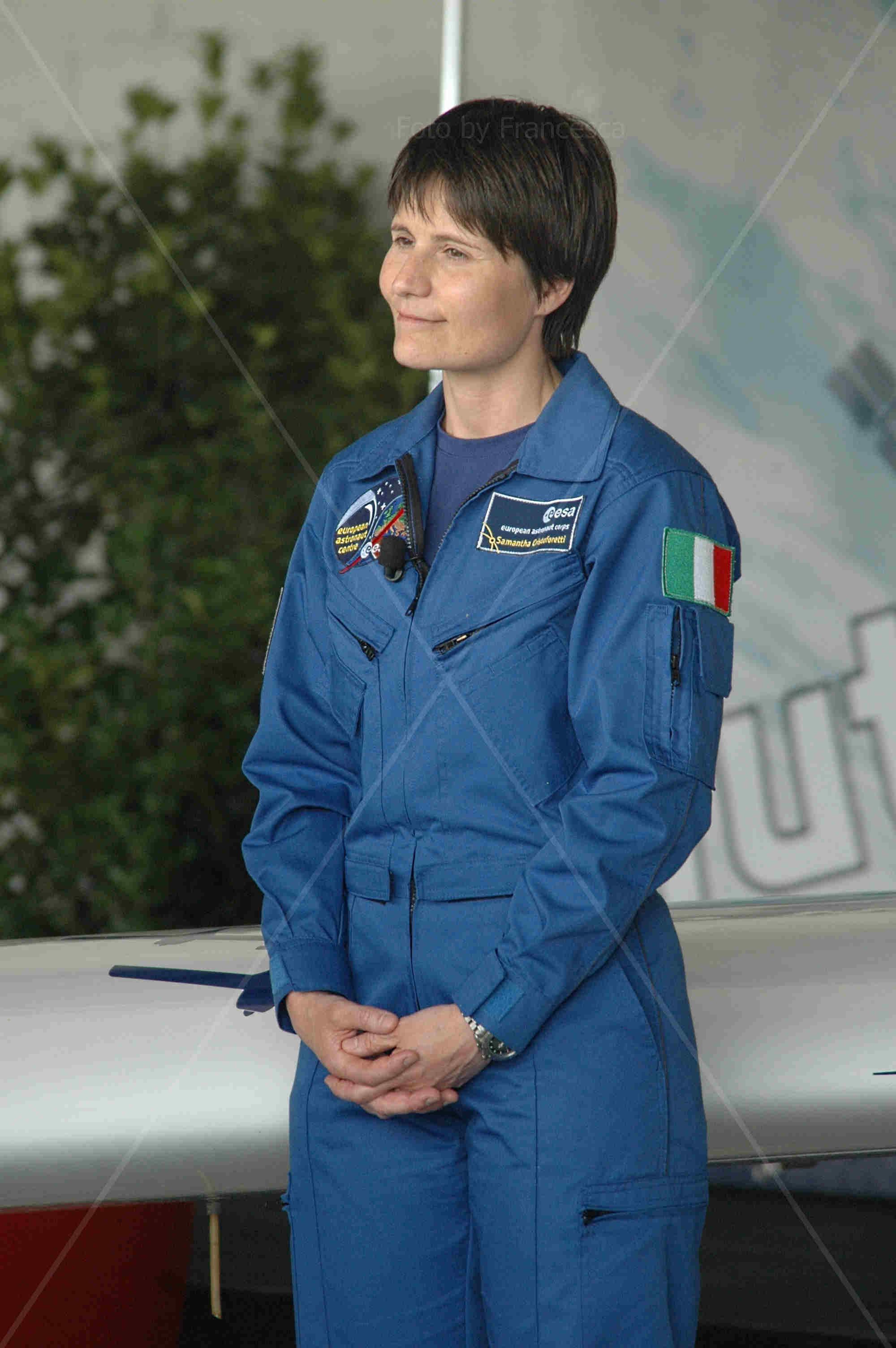 Samantha Cristoforetti - Cremona-Migliaro 14 giugno 2014