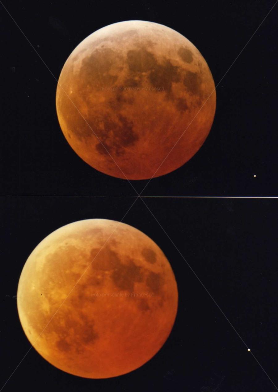 Eclisse di Luna del marzo 2007 - Foto personale
