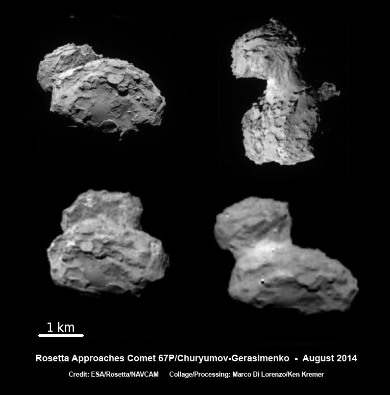 Rosetta si approccia alla 67P - Credits: ESA/ROSETTA