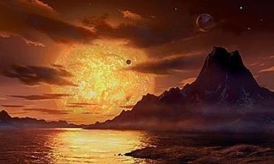 Disegno di Gliese 581  by David-Hardy
