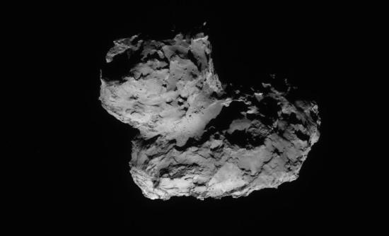 La cometa 67P - Credits: ESA