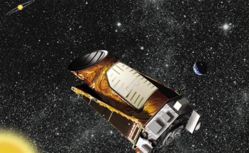 Rappresentazione artistica del telescopio della NASA Kepler - Credits: NASA
