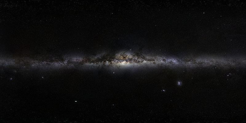 Il panorama della Via Lattea - ESO/S. Brunier