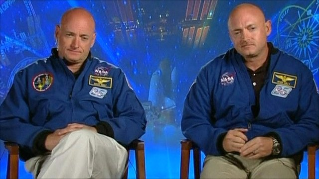 I gemelli Scott e Mark Kelly
