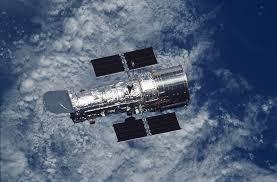 Foto del telescopio spaziale Hubble in orbita - Credits: NASA-ESA