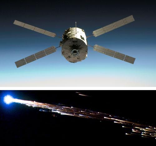 Jules Verne ATV Re-entry -  Credits: ESA