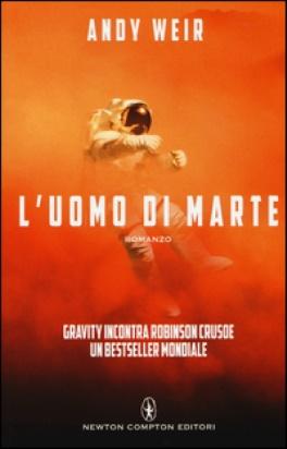 Copertina del libro L'UOMO DI MARTE nella sua edizione italiana.