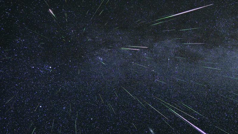 Meteore delle Perseidi o lascrime di San Lorenzo